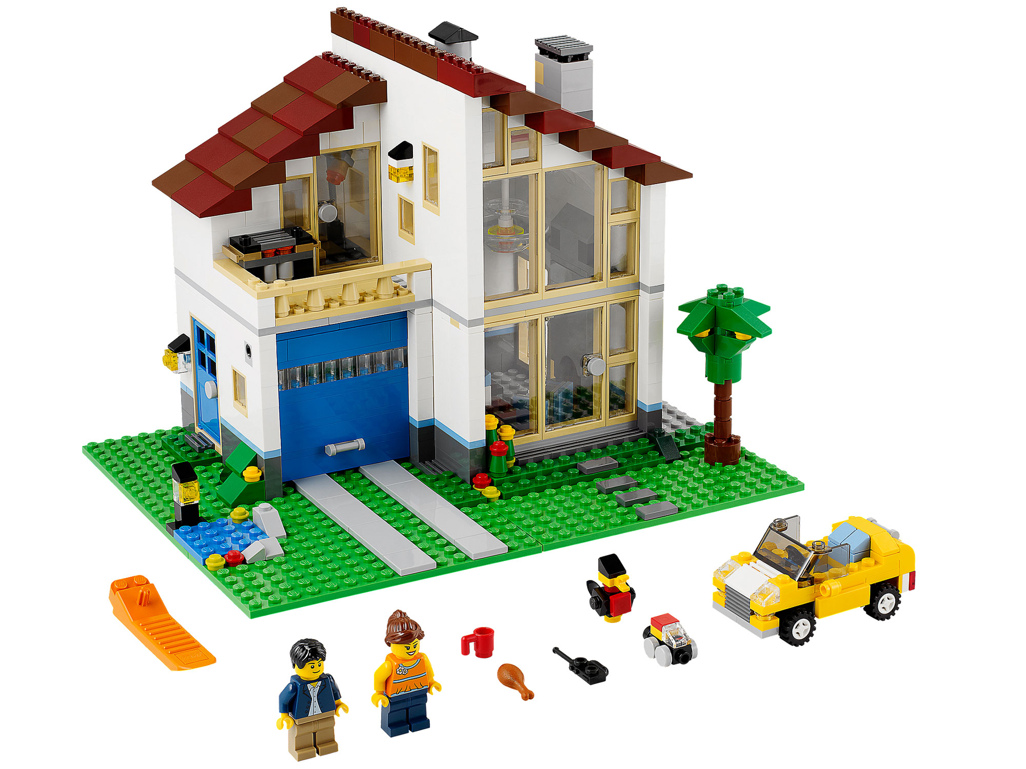 Lego 31012 lego creator family house toymania lego for House creator online