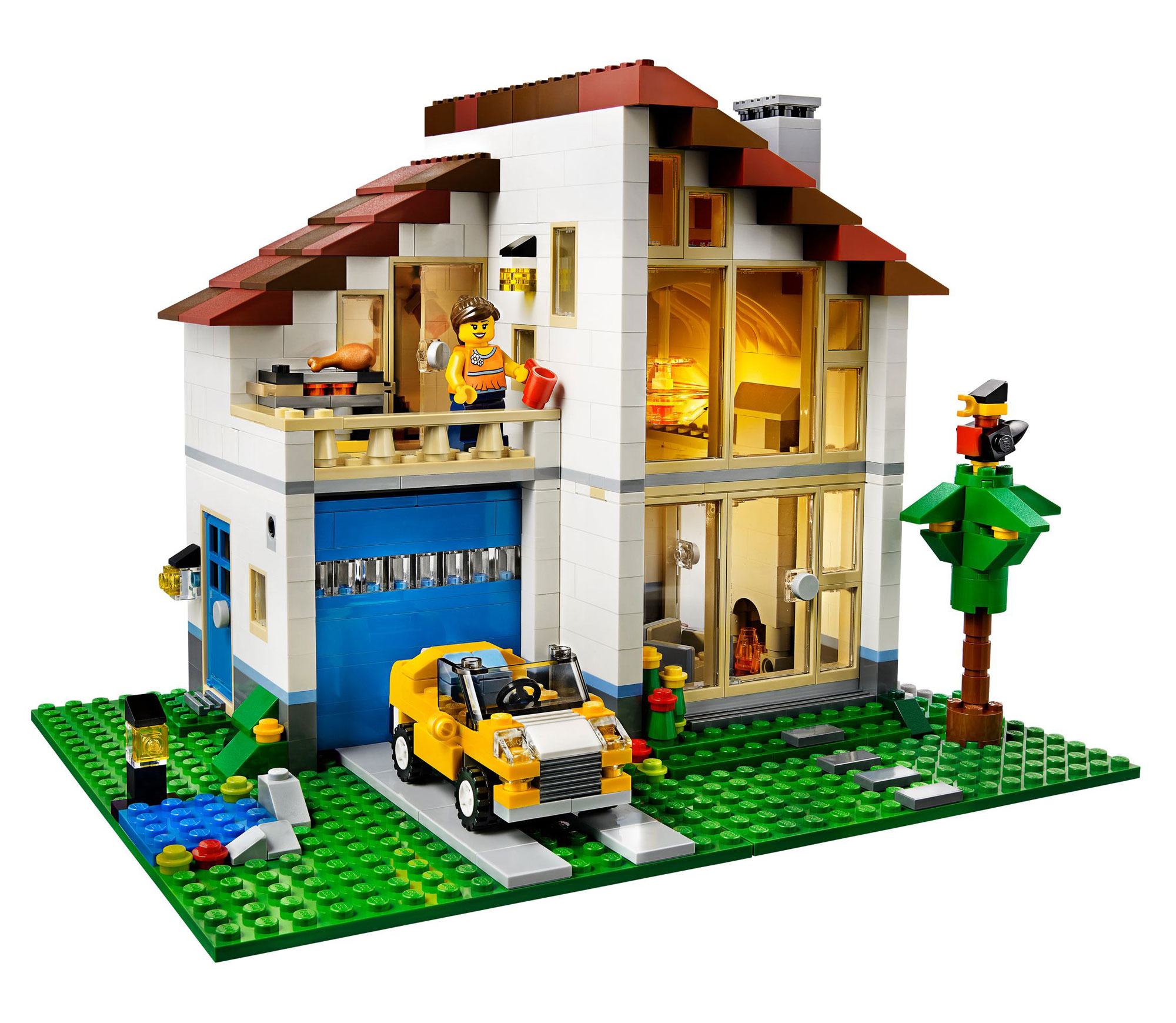 Lego 31012 lego creator family house for Home creator online