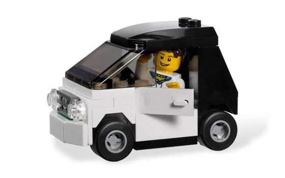 乐高玩具汽车图纸
