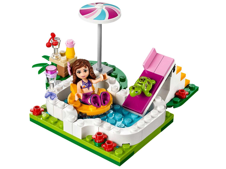 Lego 41090 lego friends olivia 39 s garden pool for Olivia s garden pool
