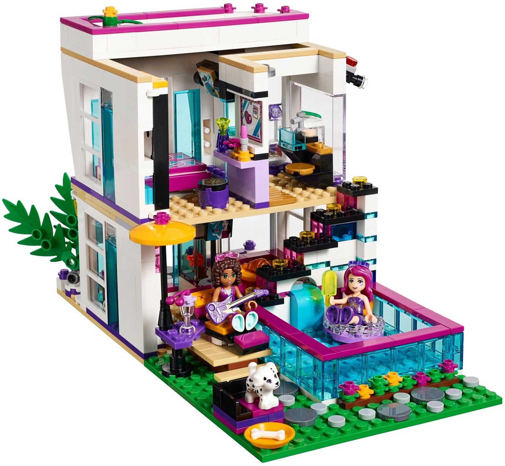 Lego 41135 lego friends livis pop star house livis for Lago shop online