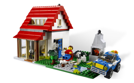 Lego 5771 Lego Creator Hillside House