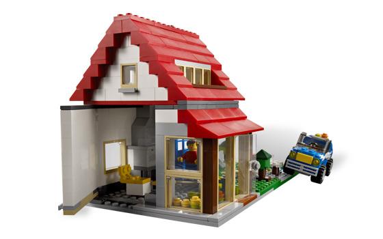 Lego 5771 lego creator hillside house for House creator online