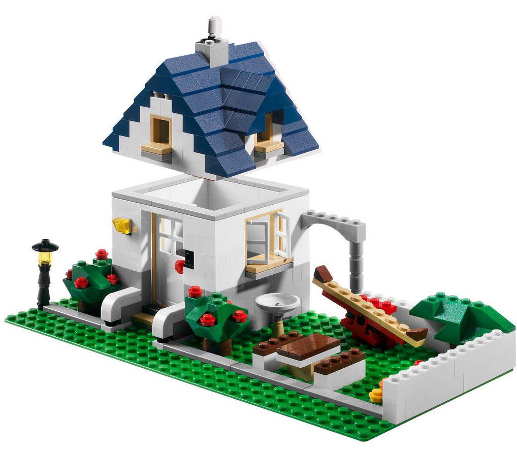 Lego 5891 Lego Creator Apple Tree House