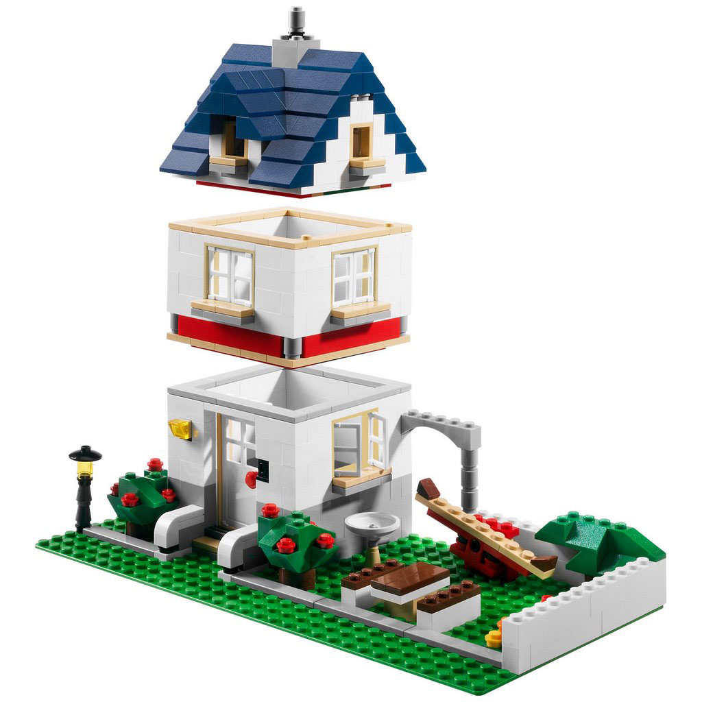 Lego 5891 lego creator apple tree house for House creator online