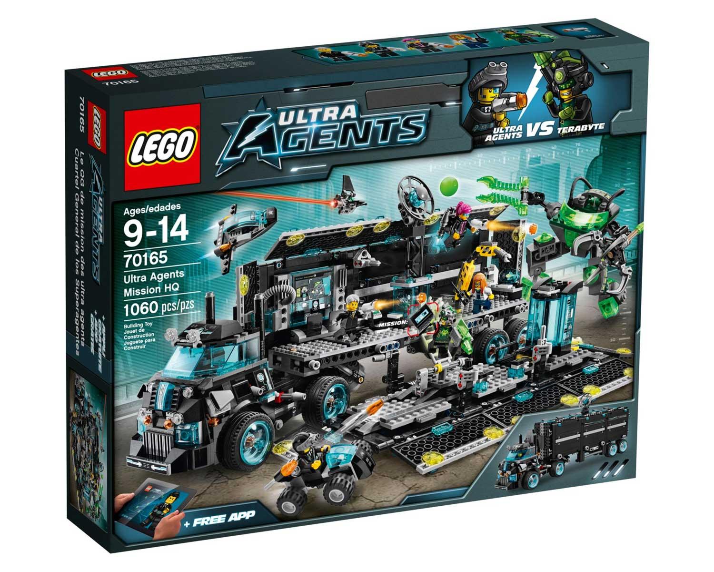 LEGO 70165 - LEGO ULTRA AGENTS - Ultra Agents Mission HQ ... | 1500 x 1200 jpeg 224kB