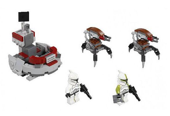 Lego Star Wars Clones vs Droidekas Lego 75000 Lego Star Wars