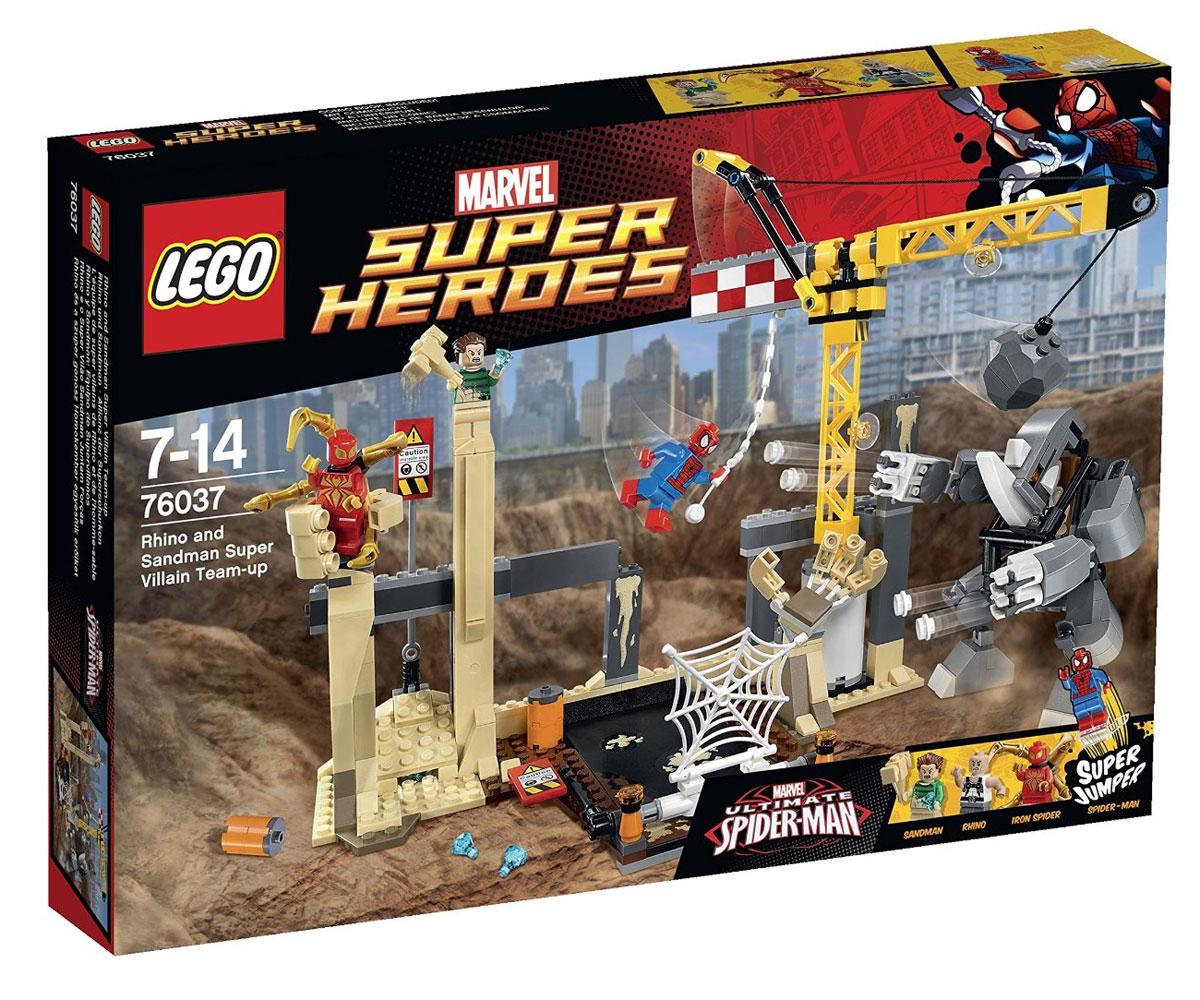 LEGO 76037 - LEGO MARVEL SUPER HEROES - Rhino and Sandman ...