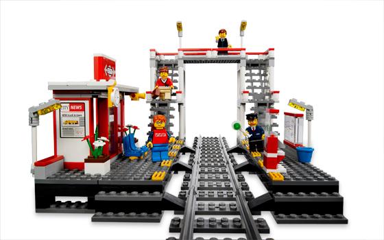 Lego 7937 lego city train station for Lago shop online