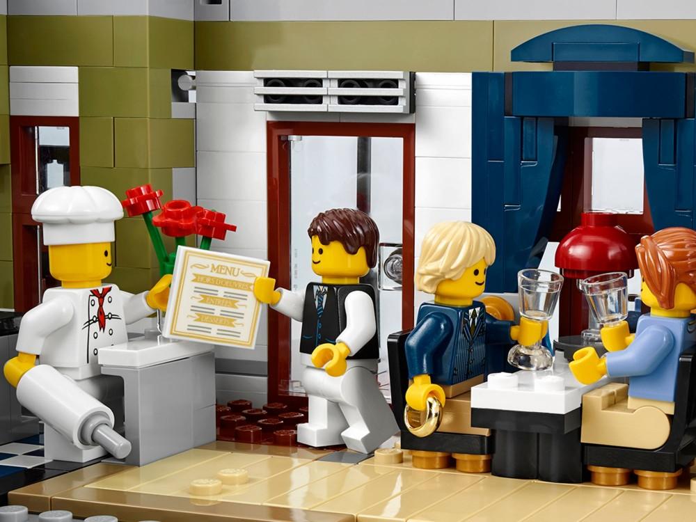 Lego 10243 lego exclusives parisian restaurant for Lago shop online