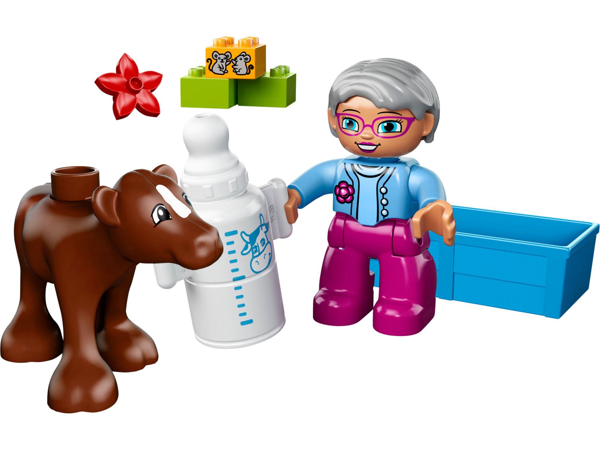Lego 10521 lego duplo baby calf toymania lego online for Lago shop online