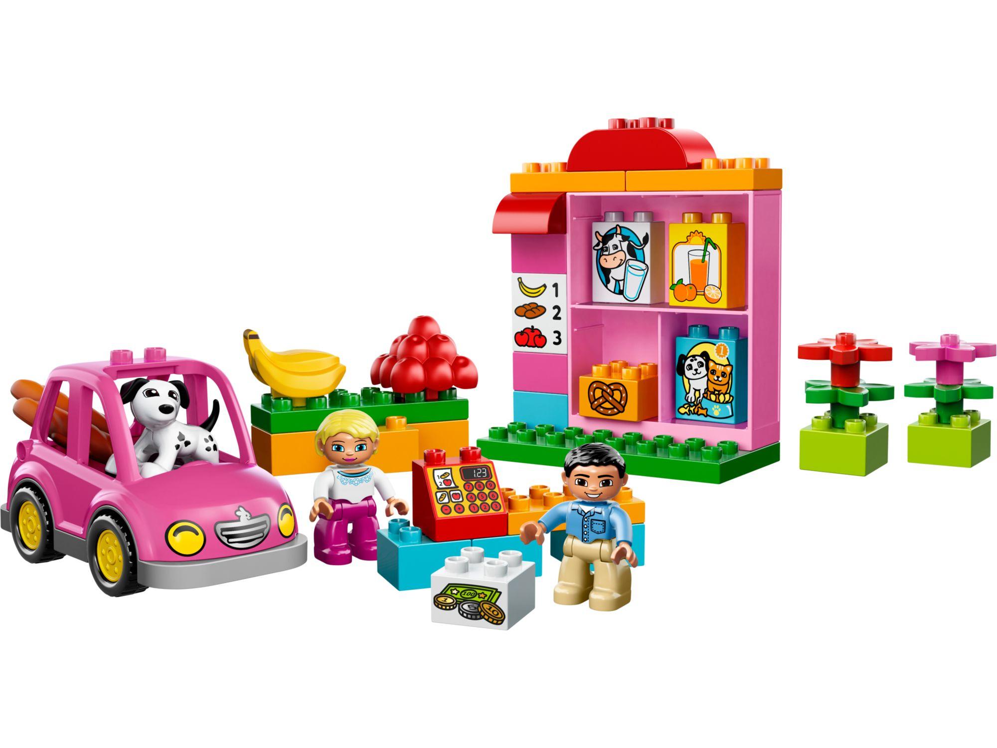 Lego 10546 lego duplo my first shop toymania lego for Lago shop online