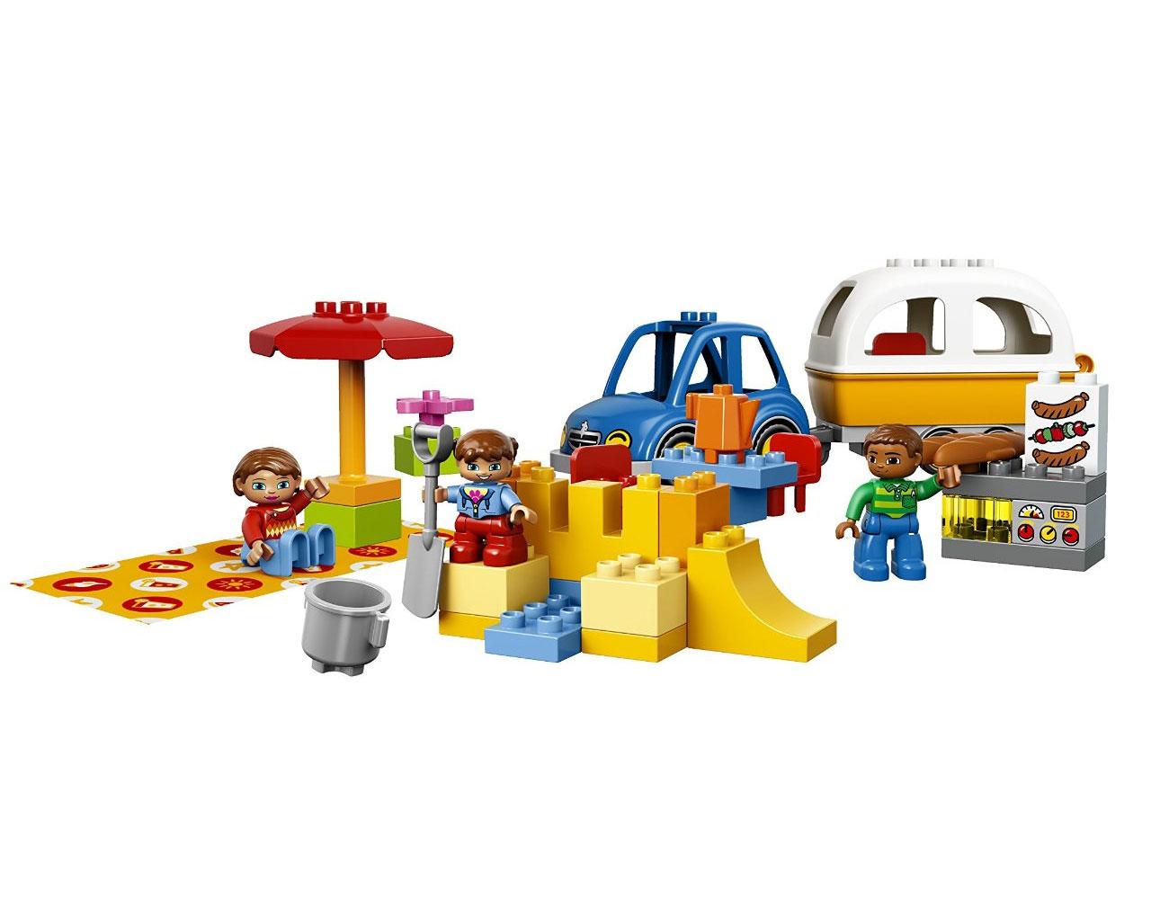 Lego 10602 lego duplo camping adventure toymania for Lago shop online