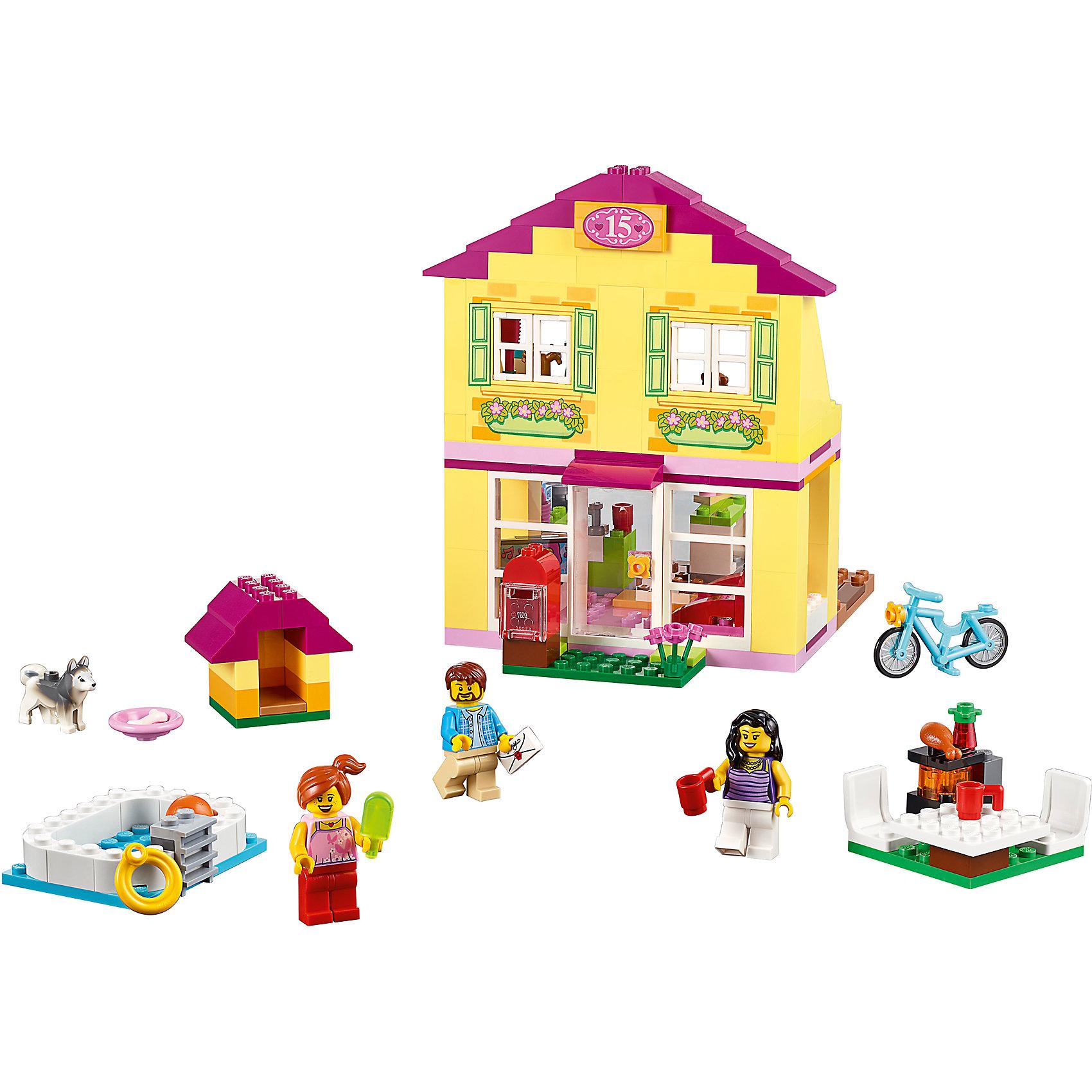 Lego 10686 lego juniors family house toymania lego for Lago shop online