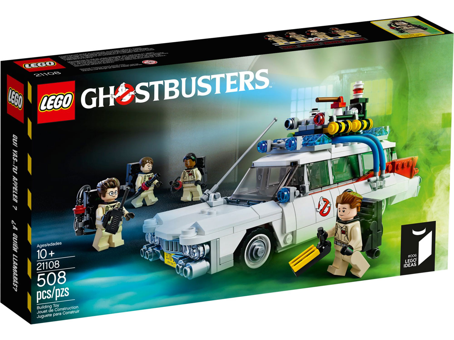 Lego 21108 lego exclusives ghostbusters ecto 1 for Lago shop online