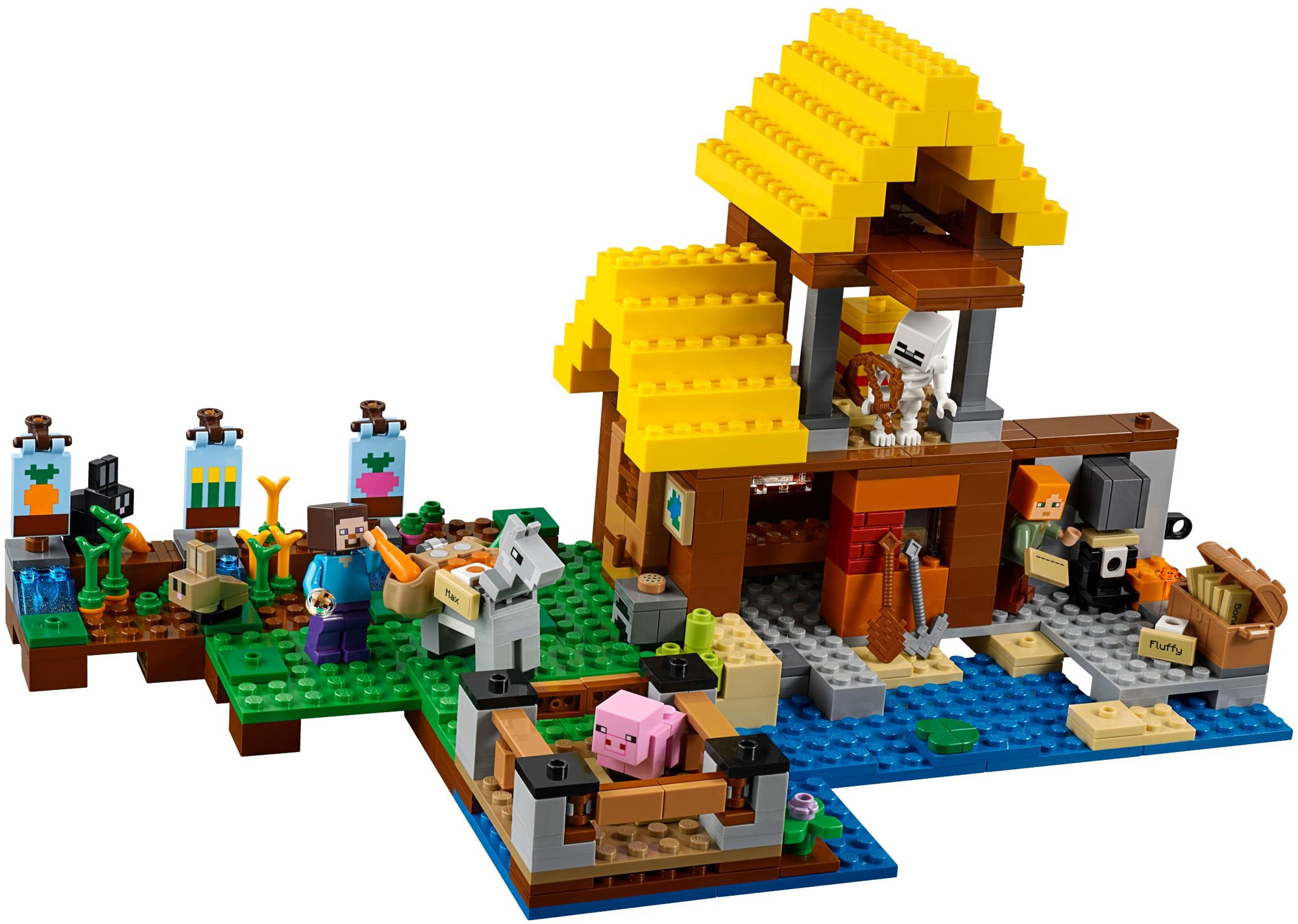 e88807c5dde5 LEGO 21144 - LEGO MINECRAFT - The Farm Cottage - Toymania Lego ...