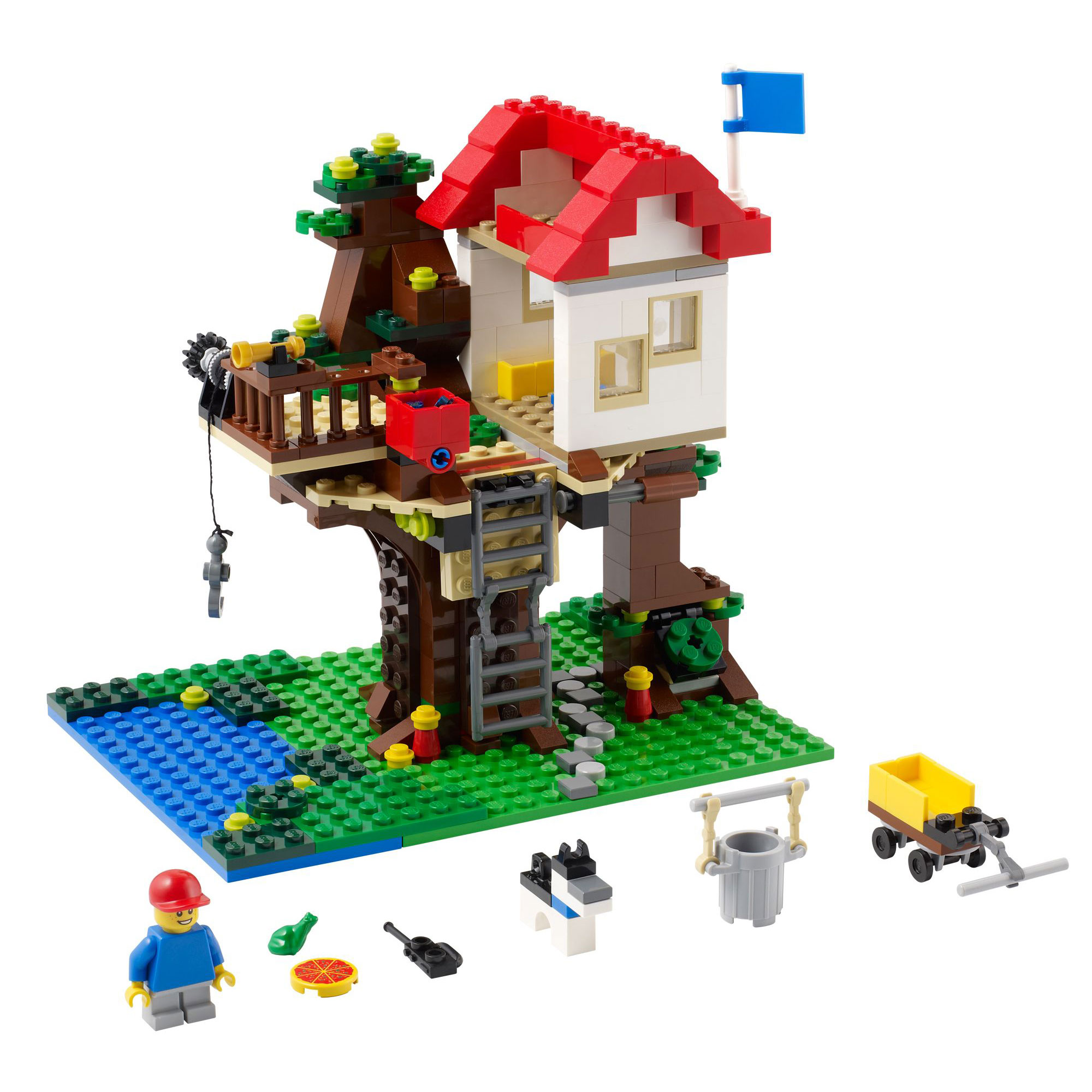 Lego 31010 lego creator tree house for Home creator online