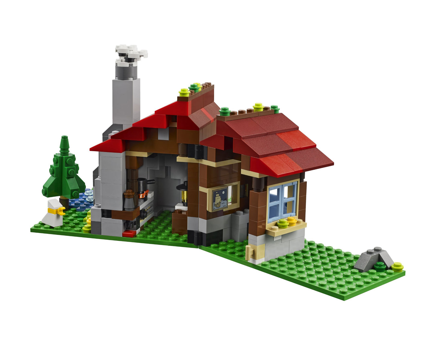 Lego 31025 lego creator mountain hut for Lago shop online