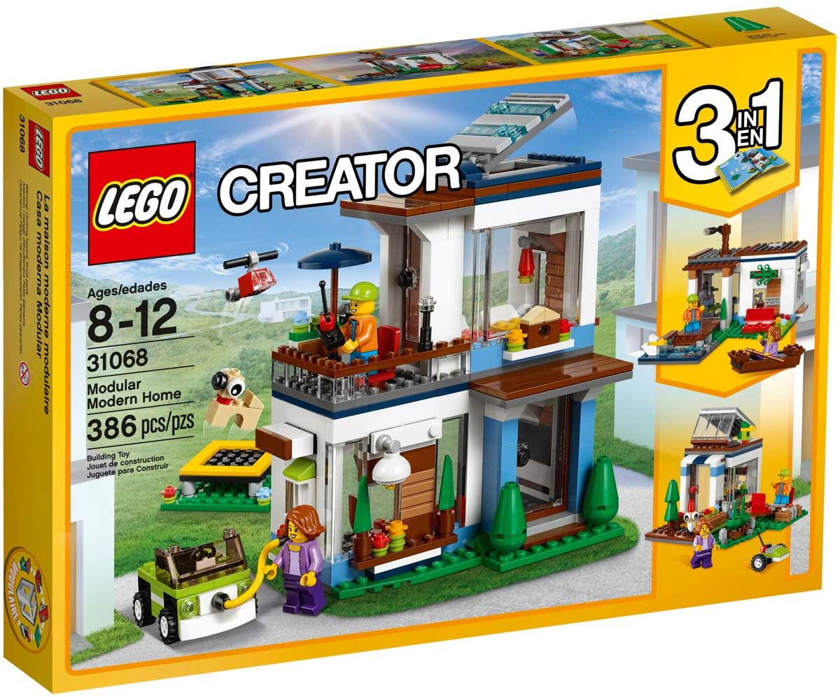 Lego 31068 lego creator modular modern home modular for House creator online