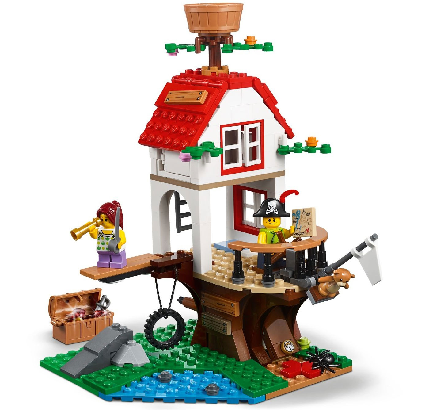 Lego 31078 lego creator tree house treasures tree for House creator online
