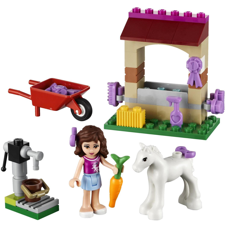 Lego 41003 lego friends olivia 39 s newborn foal for Lago shop online