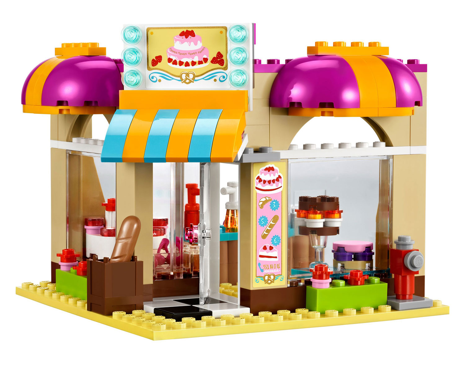 Lego 41006 lego friends downtown bakery for Lago shop online