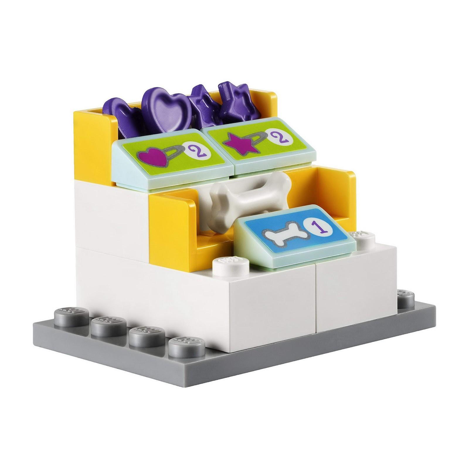 Lego 41007 lego friends heartlake pet salon toymania for Lago shop online