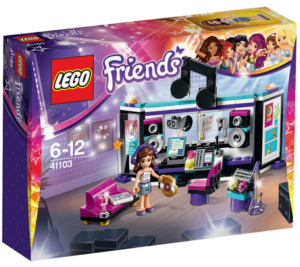 Lego 41103 lego friends pop star recording studio for Lago shop online