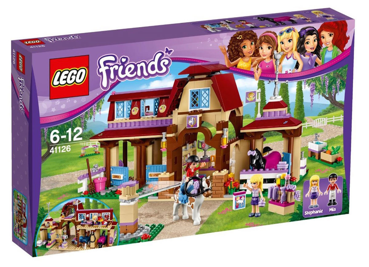 Lego 41126 lego friends heartlake riding club for Lago shop online