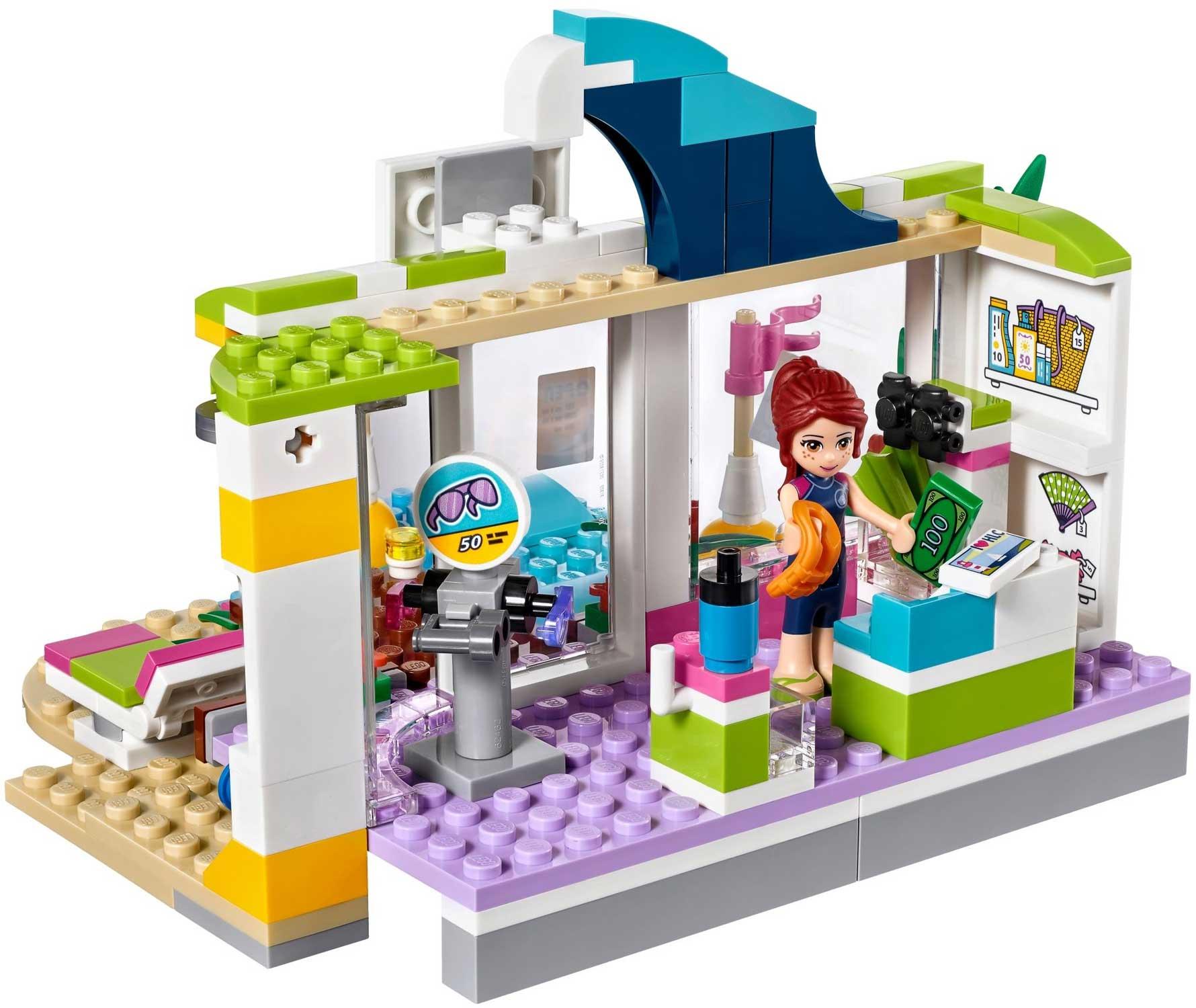 Lego 41315 lego friends heartlake surf shop toymania for Lago shop online
