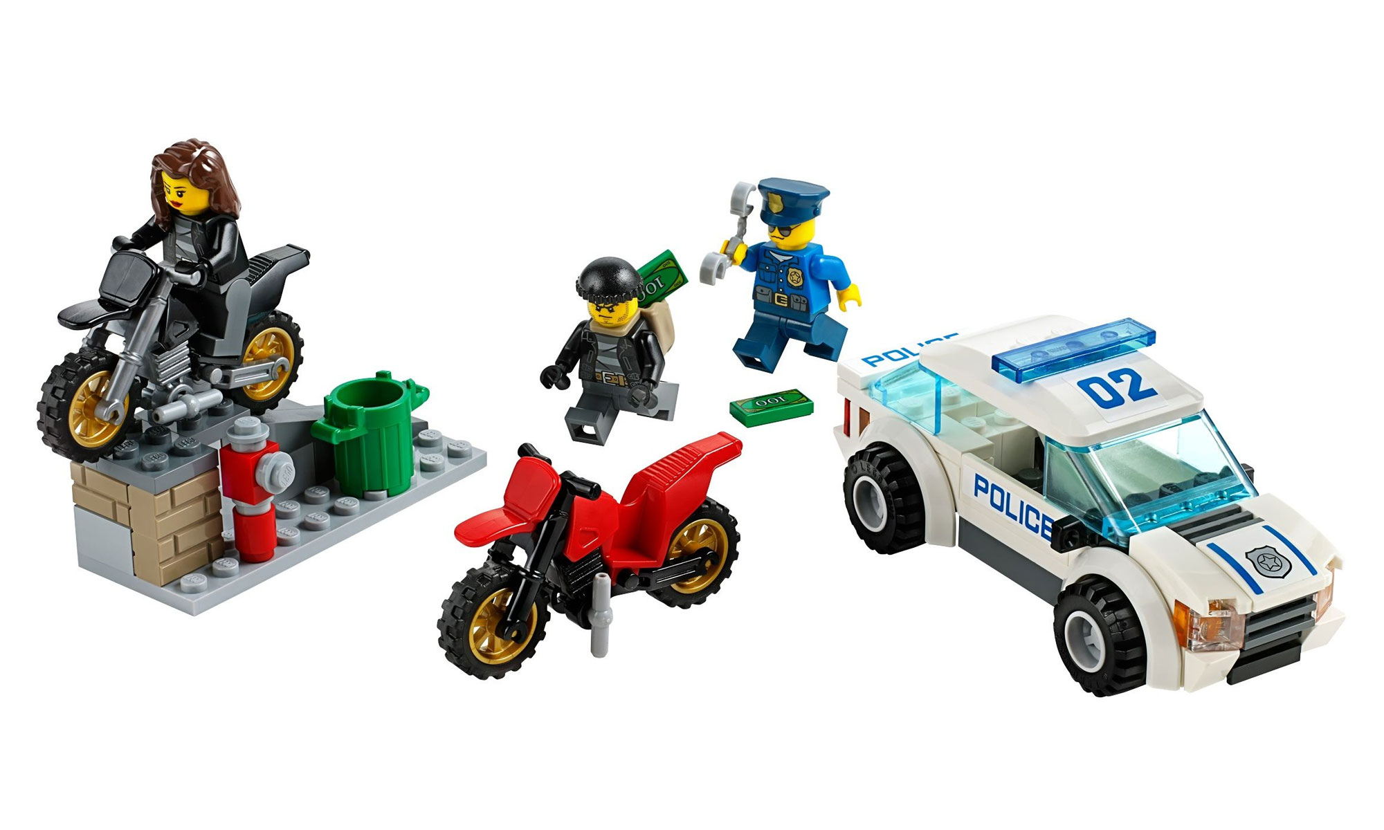 lego 60042 lego city high speed police chase toymania lego online shop. Black Bedroom Furniture Sets. Home Design Ideas