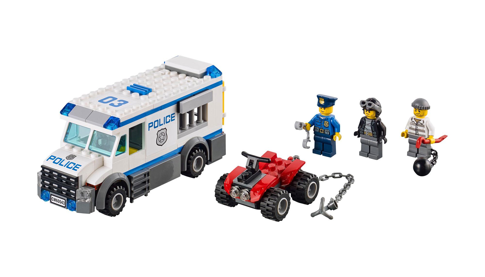 Lego 60043 lego city prisoner transporter for Lago shop online