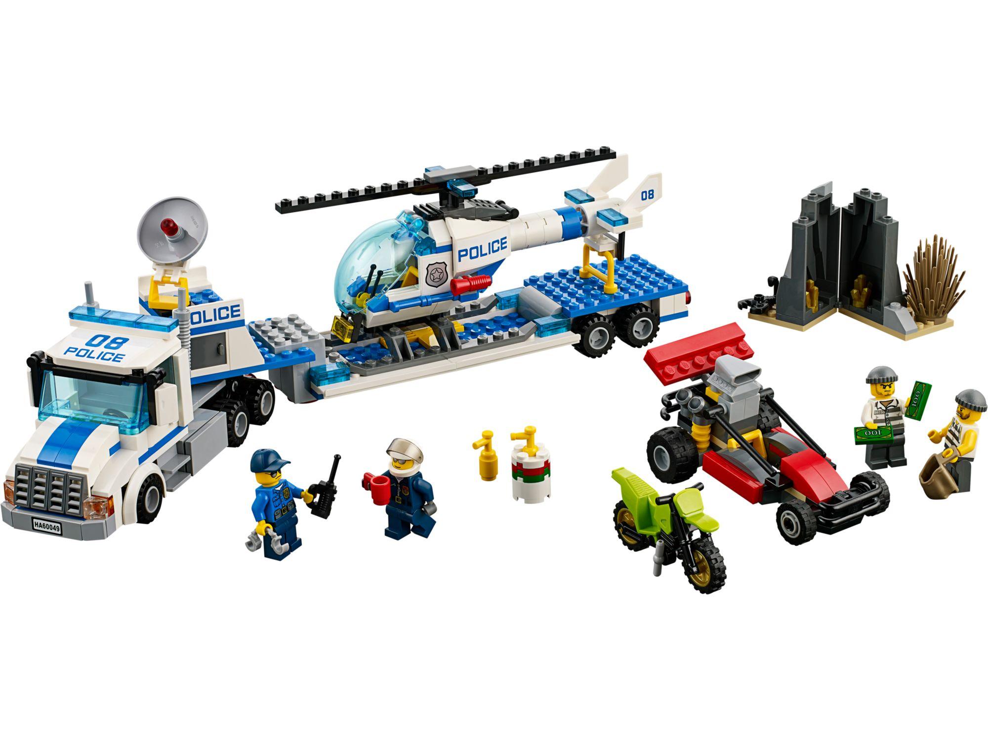 Lego 60049 lego city helicopter transporter toymania for Lago shop online