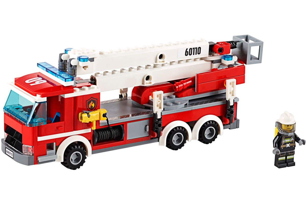 Lego 60110 lego city fire station fire station for Lago shop online