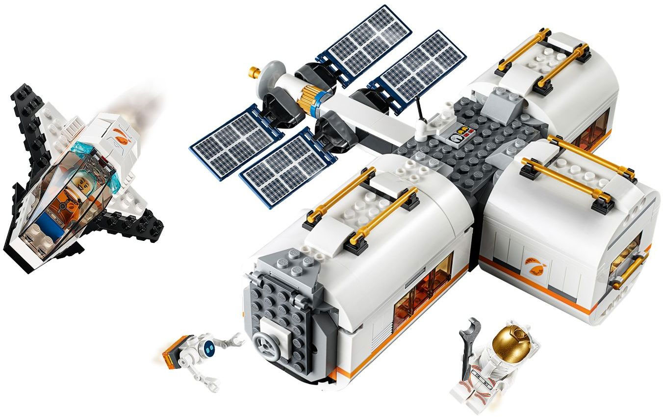 lego city lunar space station amazon - photo #12