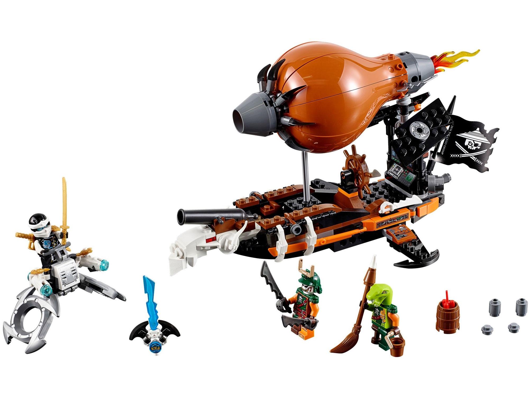 LEGO 70603 - LEGO NINJAGO - Raid Zeppelin - Toymania Lego ...