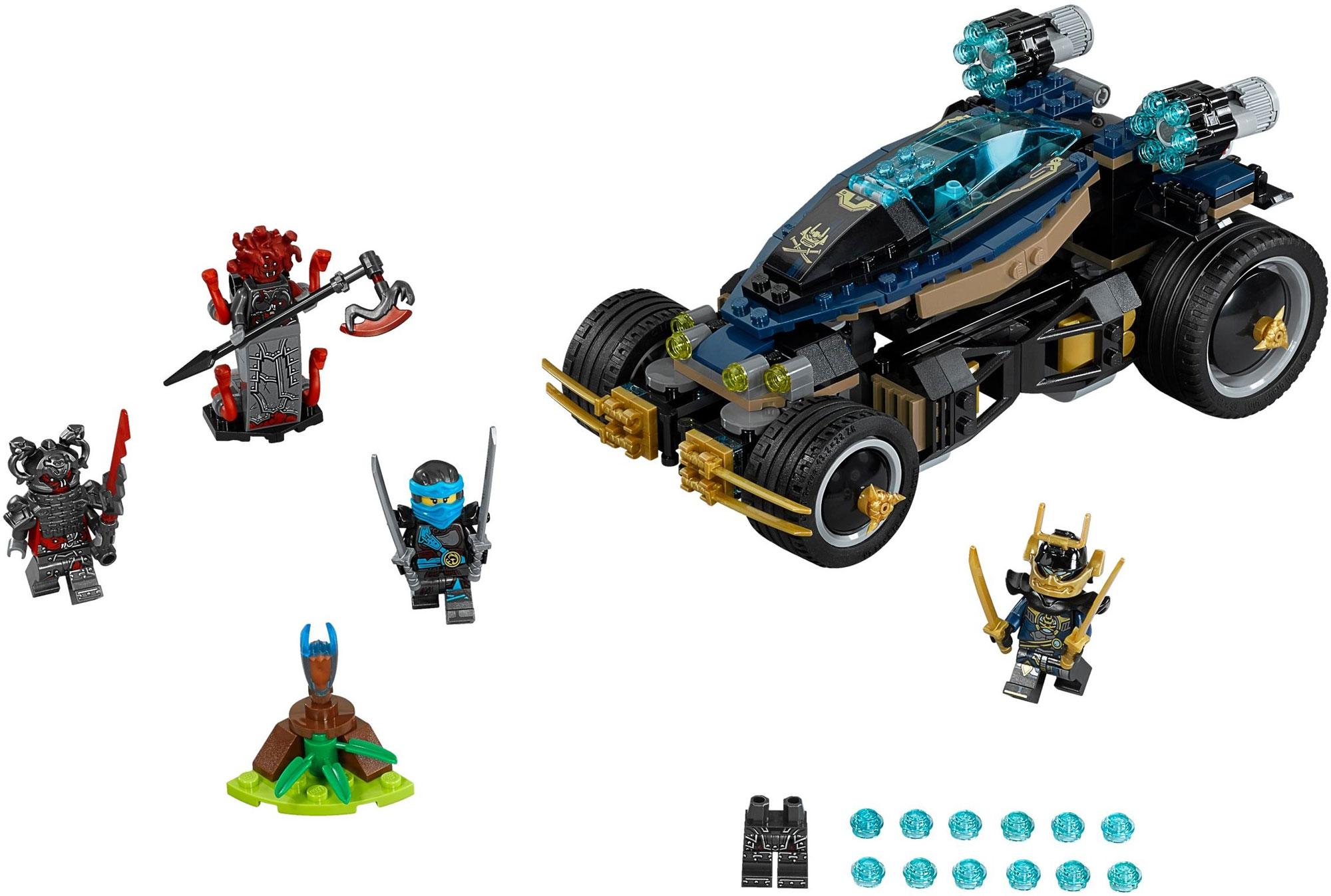 Lego 70625 lego ninjago samurai vxl toymania lego - Lego ninjago voiture ...