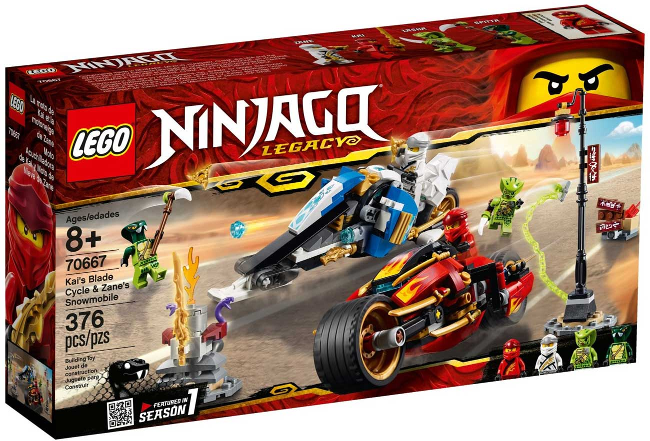 Lego 70667 lego ninjago kai 39 s blade cycle zane 39 s - Lego ninjago 4 ...