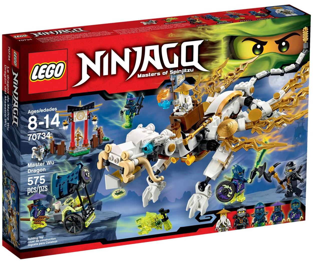 Lego 70734 lego ninjago master wu dragon toymania for Lago shop online