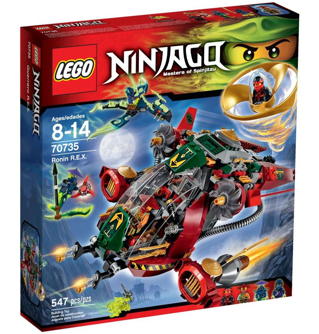 Lego 70735 lego ninjago ronin r e x r e x - Lego ninjago nouvelle saison ...