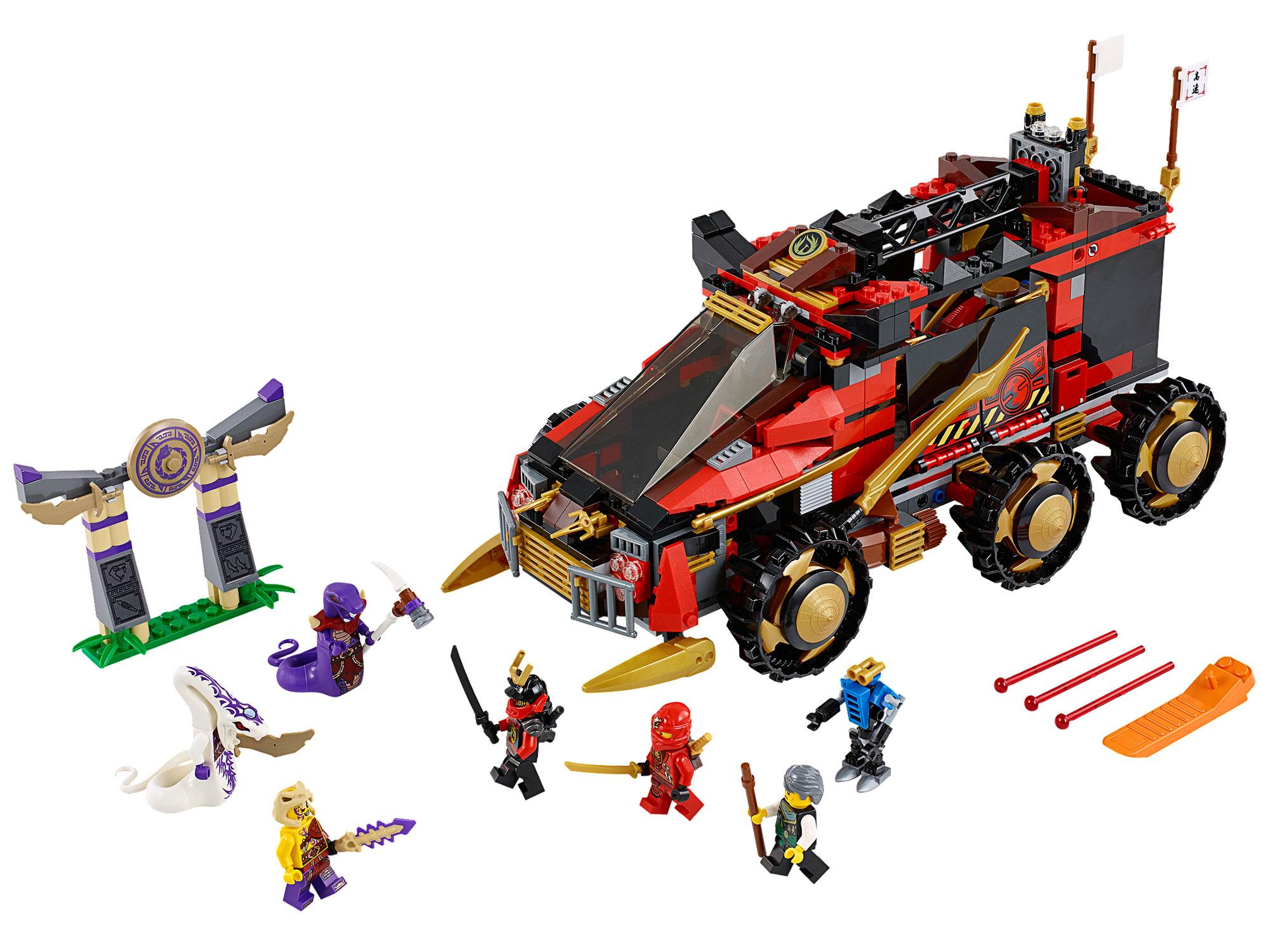 Lego 70750 lego ninjago ninja db x db x - Lego ninjago voiture ...