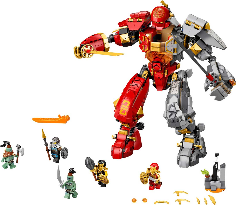 LEGO 71720 - LEGO NINJAGO - Fire Stone Mech - Toymania ...