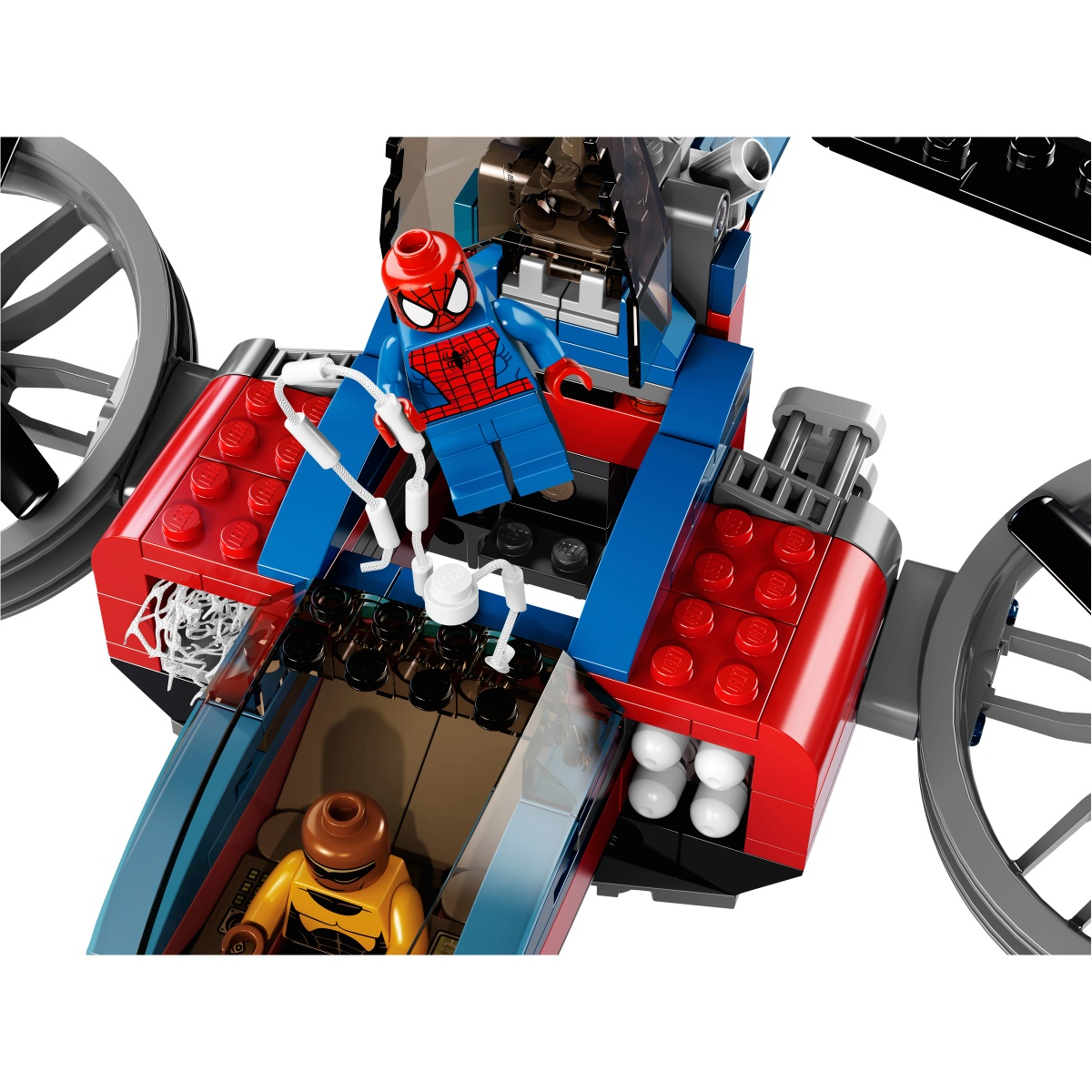 lego 76016 lego marvel super heroes spider helicopter