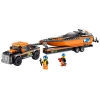 LEGO 60085 - LEGO CITY - 4x4 with Powerboat