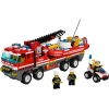 LEGO 7213 - LEGO CITY - Off road Fire Truck & Fireboat
