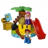 LEGO 10604 - LEGO DUPLO - Jake and the Never Land Pirates Treasure Island