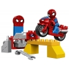 LEGO 10607 - LEGO DUPLO - Spiderman Web Bike Workshop