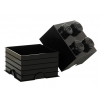 LEGO 299026 - LEGO STORAGE & ACCESSORIES - Lego Storage Brick 4 Black