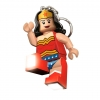 LEGO 298042 - LEGO STORAGE - Super Hero WonderWoman Key Light