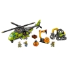 LEGO 60123 - LEGO CITY - Volcano Supply Helicopter